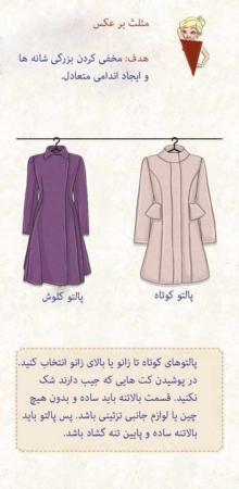 image لباس متناسب با فرم بدن و استایل خاص خود بپوشید
