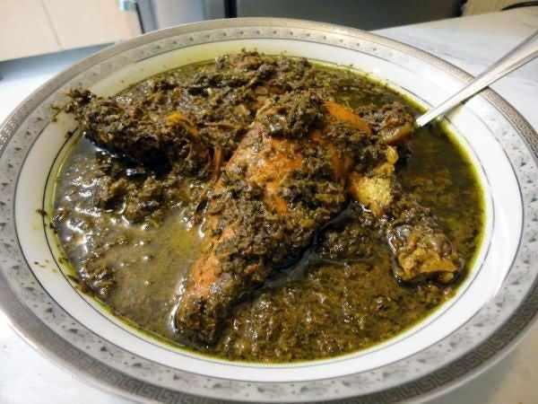 image آموزش پخت غذای اصیل شمالی خورش سماق