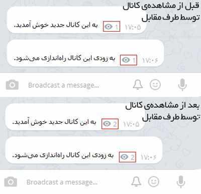 image چطور بفهمیم  کسی در تلگرام مخفی ولی آنلاین است