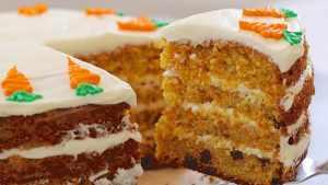image آموزش پخت کیک هویج