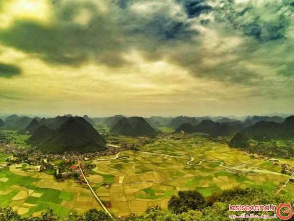 image عکس های دیدنی از طبیعت دره بی ای سی سان ویتنام