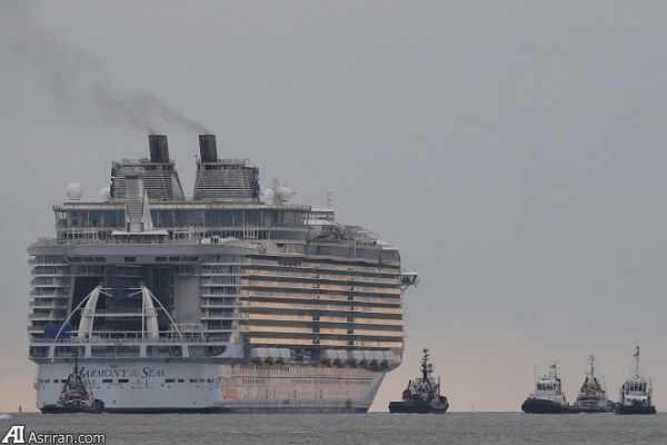image عکس های فوق العاده دیدنی از بزرگترین کشتی تفریحی