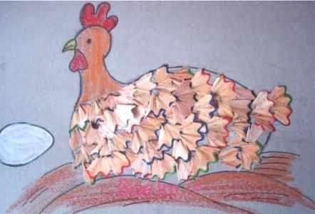 image نقاشی های زیبای کشیده و ساخته شده با تراشه های مداد