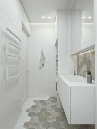 image, دکور و چیدمان خانه مدرن با رنگ های سیاه و سفید