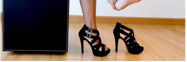image خانم ها لطفا لطفا کفش پاشنه بلند نپوشید زیرا