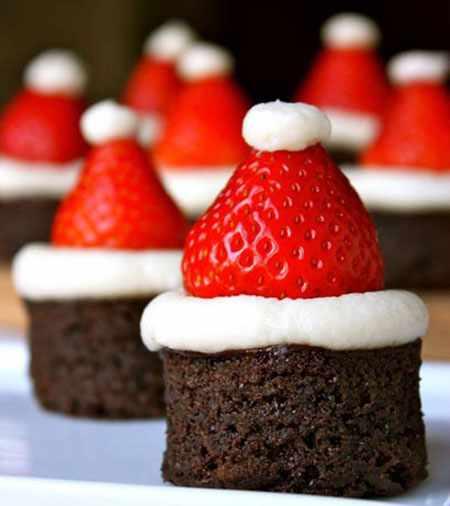image آموزش پخت کیک بابانوئلی برای جشن کریسمس