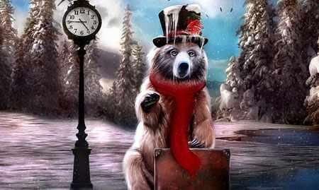 image کارت های زیبا برای تبریک سال  نو میلادی