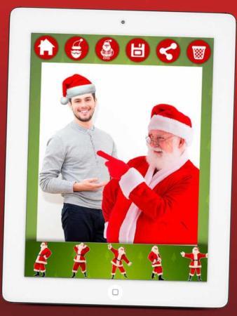 image برنامه تبدیل عکس صورت شما به بابانوئل برای گوشی اندروید