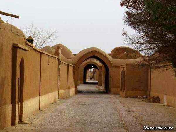 image تصاویر دیدنی از روستای فهرج با آثار باستانی زیبا