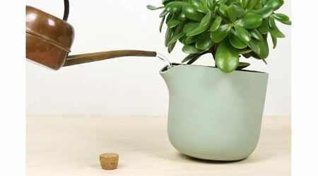 image, طراحی گلدانی که خودش به گل ها آب می دهد با عکس
