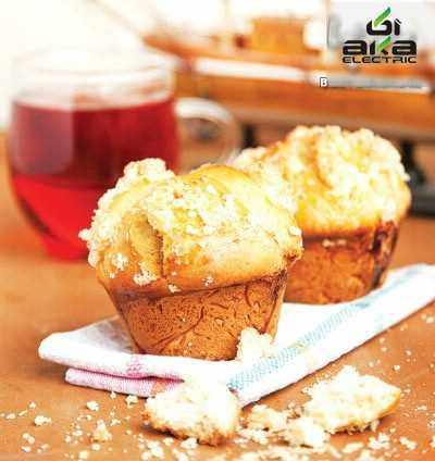 image آموزش مرحله ای درست کردن نان نارگیل