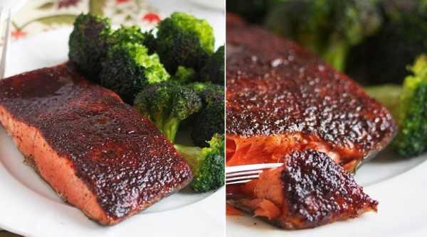 image, آموزش پخت ماهی سالمون با بروکلی مقوی و رژیمی