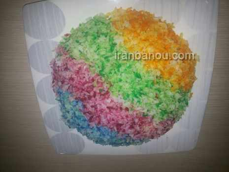 image ایده های جالب تزیین برنج برای سفره مهمانی