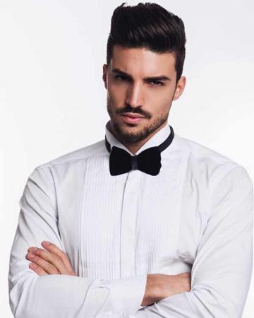 image, آقایان چطور درست و شیک از کراوات در مجالس استفاده کنند
