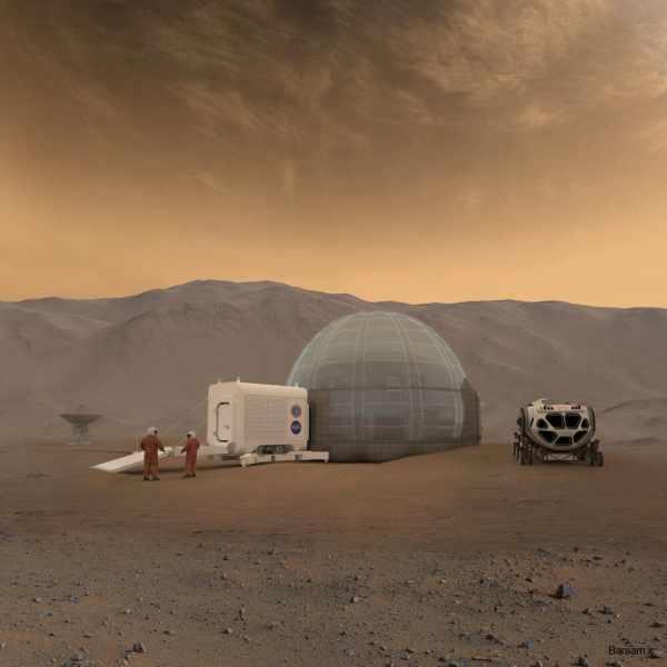 image, انسان ها چطور می توانند در مریخ خانه بسازند و زندگی کنند