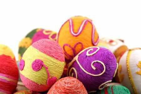 image ایده های جالب و دیدنی تزیین زیبای تخم مرغ هفت سین