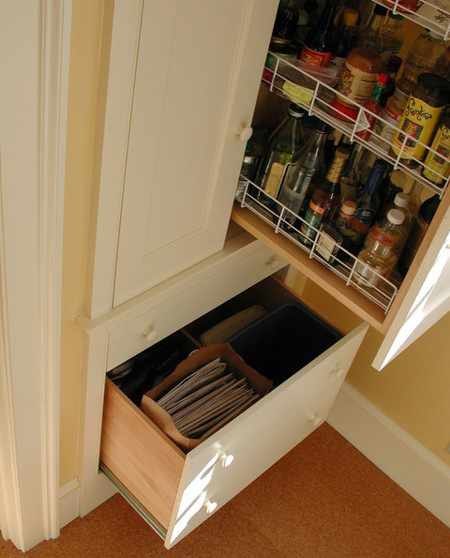 image, چطور در دکوراسیون شیک و مدرن آشپزخانه سطل زباله هم قرار دهید
