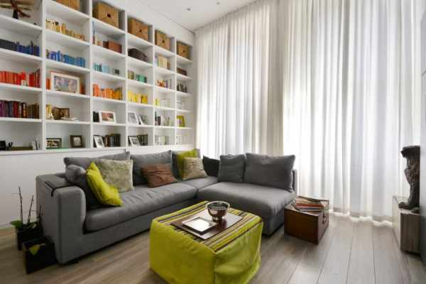 image برای خانه های کوچک رنگ مناسب است یا کاغذ دیواری