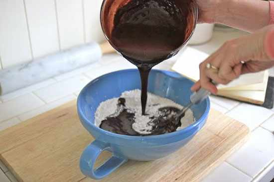 image آموزش عکس به عکس درست کردن کاپ کیک در خانه
