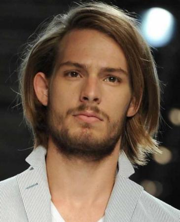 image مدل موهای بلند جذاب مردانه مورد علاقه خانم ها کدام است