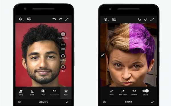 image برنامه برای تغییر و ادیت عکس با گوشی اندرویدی مثل فوتوشاپ