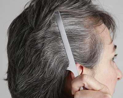 image, معرفی خوراکی و ماسک های طبیعی برای حل مشکل سفید شدن مو
