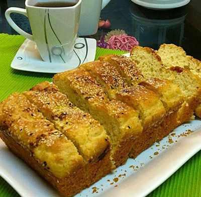 image آموزش درست کردن کیک نمکی مخصوص در خانه