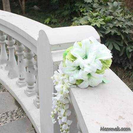 image, عکس مدل های جدید برای دسته گل عروس