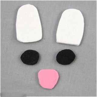 image آموزش ساخت کاردستی خرگوش برای کار عملی مدرسه بچه ها