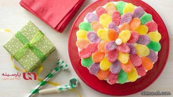 image عکس جالب از تزیین دیدنی خوراکی ها با پاستیل