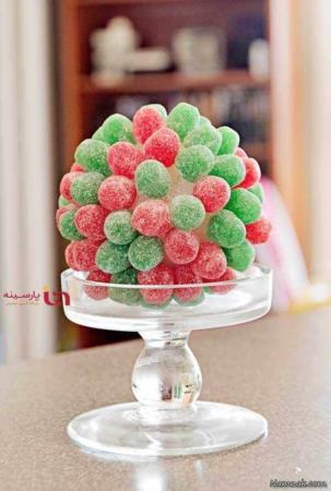 image, عکس جالب از تزیین دیدنی خوراکی ها با پاستیل