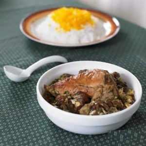 image آموزش درست کردن خورش آلو مرغابی غذای محلی گیلان