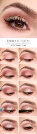 image, آموزش با عکس ده ها مدل آرایش چشم مجلسی