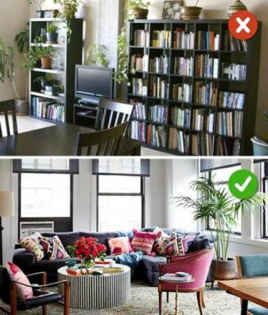 image, آموزش تصویری بهترین چیدمان ها برای اتاق و پذیرایی خانه