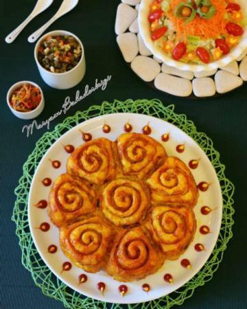 image آموزش پخت کیک ماکارونی غذای مورد علاقه بچه ها