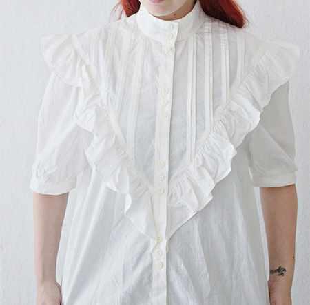 image, آموزش تصویری تبدیل کردن پیراهن های قدیمی به تاپ مدل روز