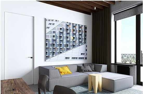 image آموزش دکور و چیدمان شیک برای آپارتمان های ۶۰ متری
