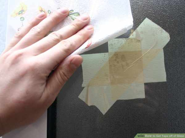 image آموزش تصویری پاک کردن لکه چسب از شیشه و ظروف شیشه ای