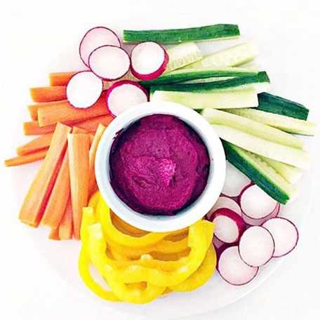 image آموزش درست کردن شام رژیمی و گیاهی با چغندر
