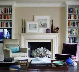 image آموزش تصویری تزیین تمام دیوارهای خانه با عکس