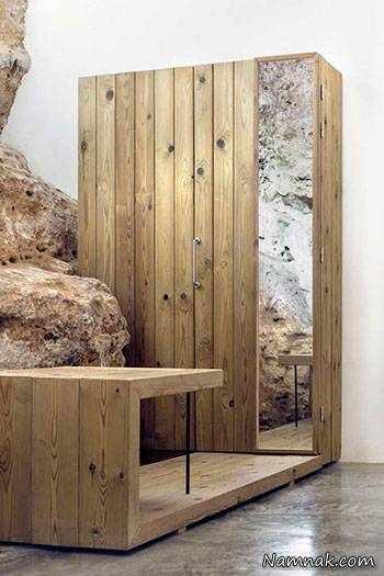 image, عکس های دیدنی از ساخت ترکیبی خانه امروزی با سنگ های کوه