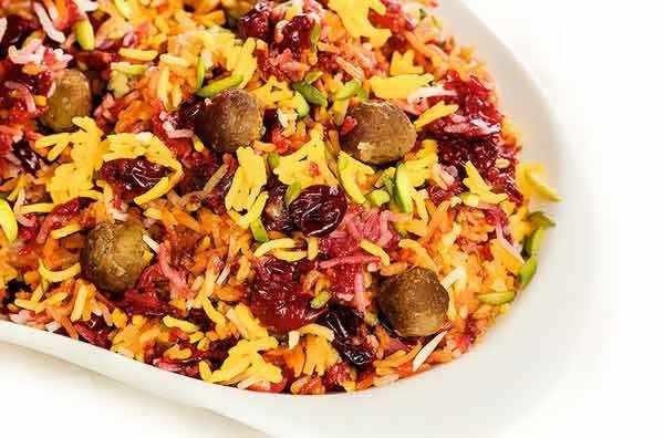 image, دستور پخت مخصوص سرآشپز برای آلبالو پلو