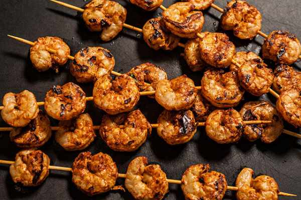 image, دستور مخصوص سرآشپز برای تهیه میگو کبابی