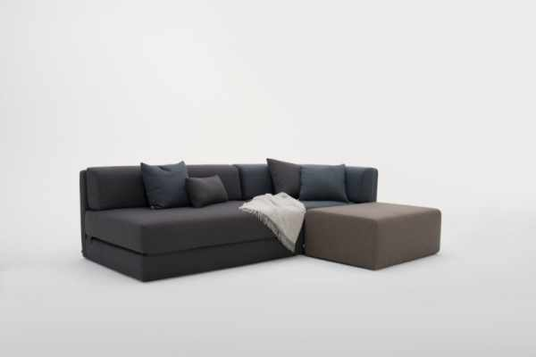 image عکس مدل مبل های ساده و نیم ست ال برای آپارتمان کوچک