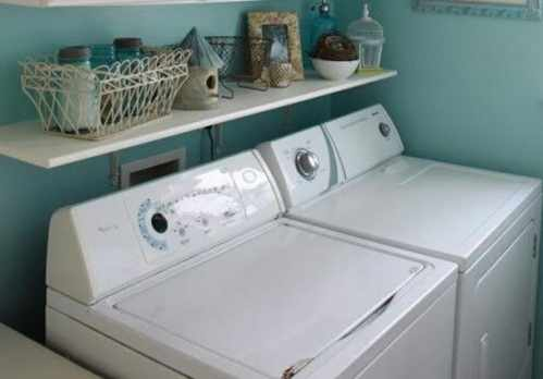 image آیا گذاشتن ماشین لباسشویی در حمام و انباری آن را خراب میکند
