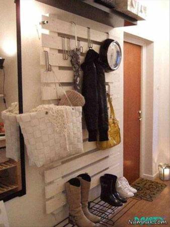 image چطور راهروی ورودی درب آپارتمان را دکور کنید