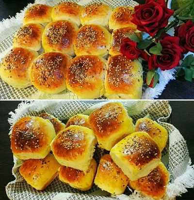 image آموزش پخت نان مخصوص و شیرین آلمانی