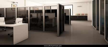 image آشنایی با پارتیشن اداری و مدل های متنوع آن در دکوراسیون محل کار