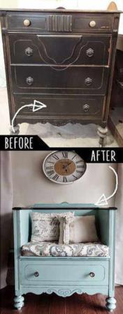 image چطور از کمدهای قدیمی در دکوراسیون خانه دوباره استفاده کنید