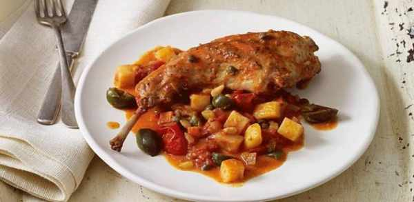 image, آموزش پخت غذای مقوی و انرژی زای مرغ سیسیلی